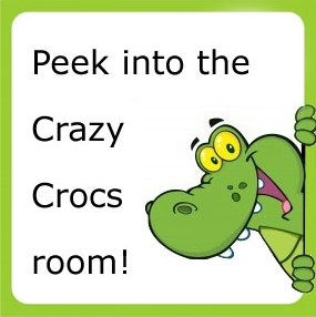 Peek into the Crazy Crocs Room